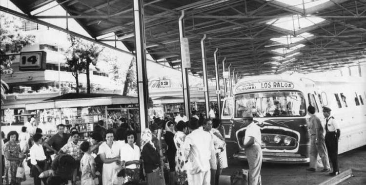 De la plataforma 14 de la terminal vieja salía la empresa Piedrabuena | El Diario 24