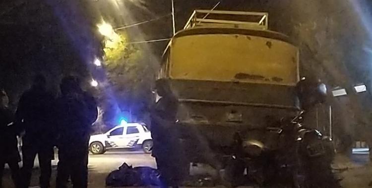 Motociclista perdió la vida en el acto al chocar contra un colectivo estacionado | El Diario 24