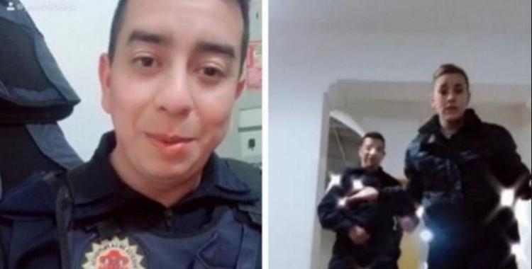 VIDEO: policías serán sumariados por filmarse para TikTok en una comisaría | El Diario 24