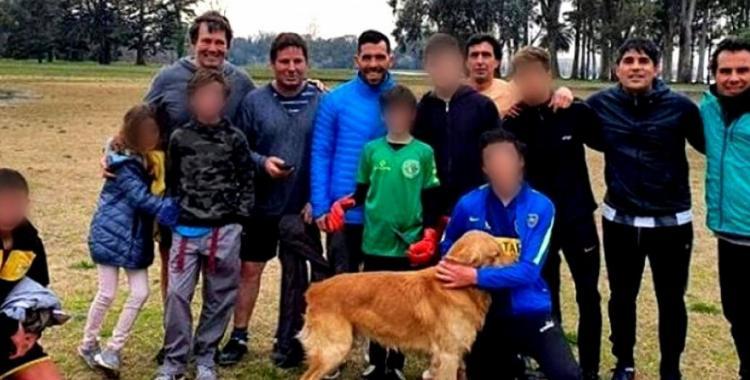 Carlos Tevez violó la cuarentena para jugar un picadito con un concejal de Maipú | El Diario 24