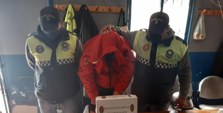 Un hombre terminó preso al intentar pasar droga oculta en un paquete de yerba para su hijo preso | El Diario 24