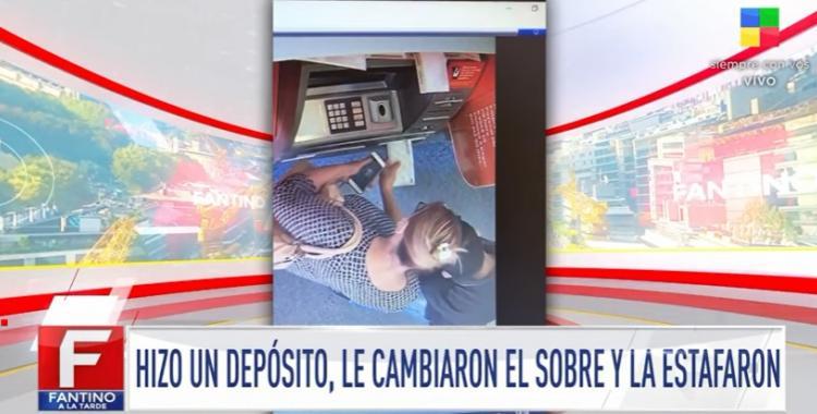 VIDEO | Fue a hacer un depósito en el banco y un ingenioso ladrón le cambió el sobre con dinero | El Diario 24