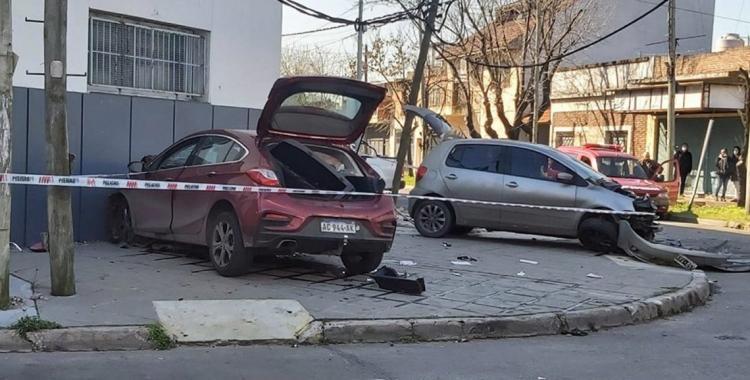 VIDEO: Chocó y mató a un automovilista cuando perseguía en contramano a un motochorro | El Diario 24