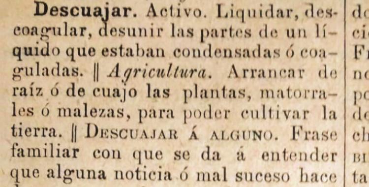 ¿Existe el verbo descuajeringar en el idioma español? | El Diario 24