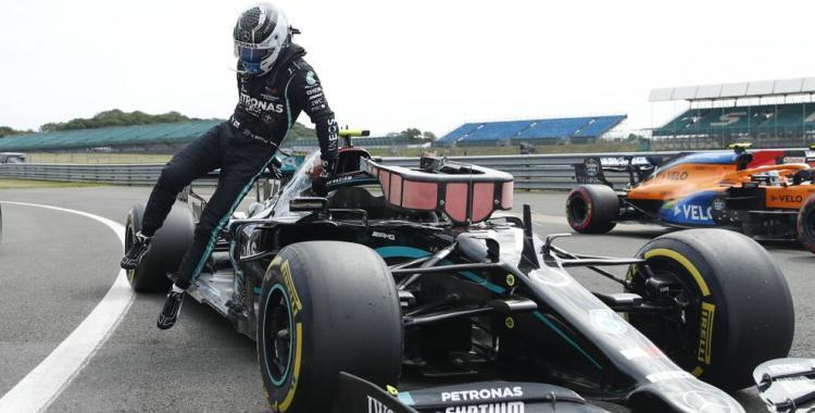 Bottas se quedó con la pole en Silverstone | El Diario 24