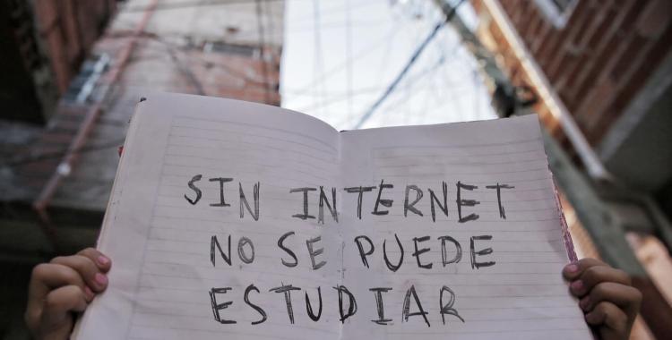 La Garganta Poderosa denunció inacción del Estado y falta de conectividad a internet | El Diario 24