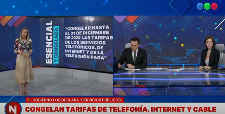 VIDEO Cristina Pérez cuestionó el congelamiento de tarifas anunciado por Alberto Fernández   El Diario 24