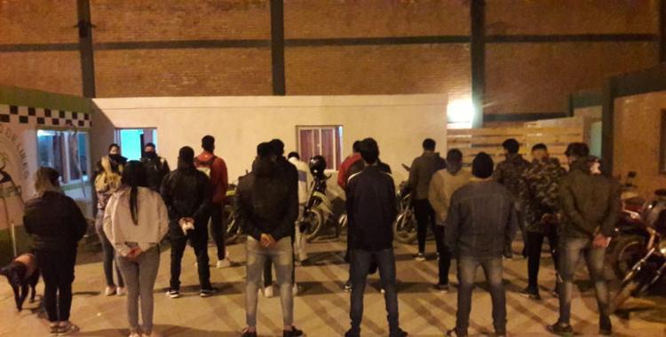 Más de 30 personas demoradas por una fiesta clandestina en Lules | El Diario 24
