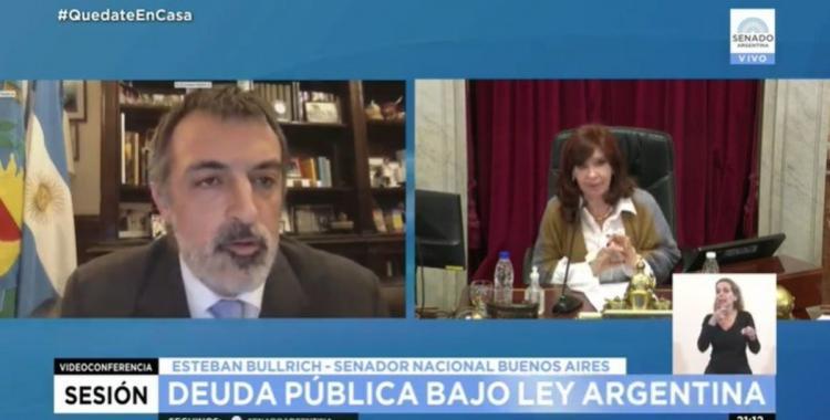 VIDEO. Cristina tomó asistencia en el Senado y chicaneó a Esteban Bullrich   El Diario 24