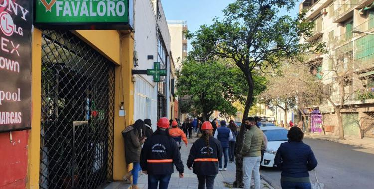 Intenso operativo de Defensa Civil en el microcentro tucumano para prevenir el contagio de coronavirus   El Diario 24