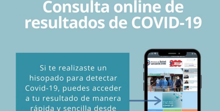 Santiago: cómo funciona la aplicación para acceder al resultado del hisopado para Covid-19   El Diario 24