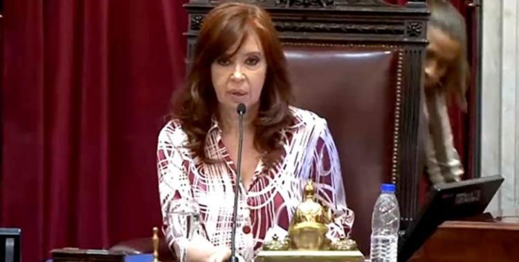 Cristina Kirchner cargó contra los camaristas Bruglia y Bertuzzi | El Diario 24