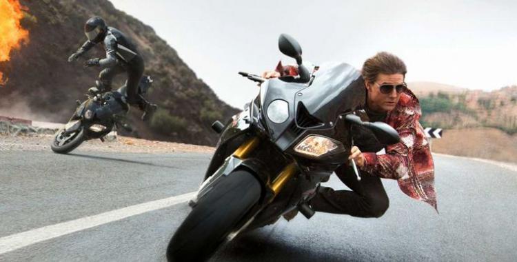 VIDEO: Se filtra una escena de Misión Imposible 7 con Tom Cruise saltando al vacío en moto | El Diario 24