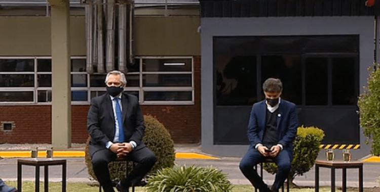 Alberto Fernández respaldó a Kicillof ante el reclamo policial y cuestionó a quienes están escondidos en patrulleros tocando sirena | El Diario 24