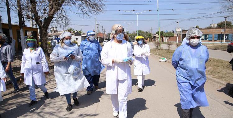Salud y un operativo en barrio 11 de Marzo: ¿cuántos infectados hay en la zona? | El Diario 24