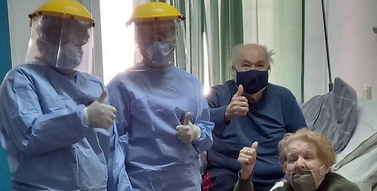 VIDEO Aguilares: con 83 y 85 años, lucharon durante 22 días, superaron el coronavirus y volvieron a su casa juntos | El Diario 24