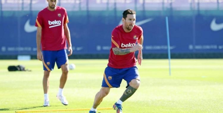 Messi se entrenó en el día libre y está listo para el primer partido de Barcelona | El Diario 24