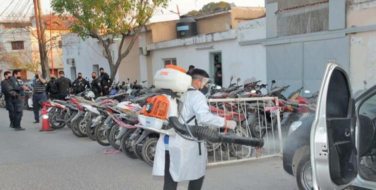 Un preso se contagió de Covid-19 y tuvieron que relevar a toda una Comisaría y aislar detenidos   El Diario 24