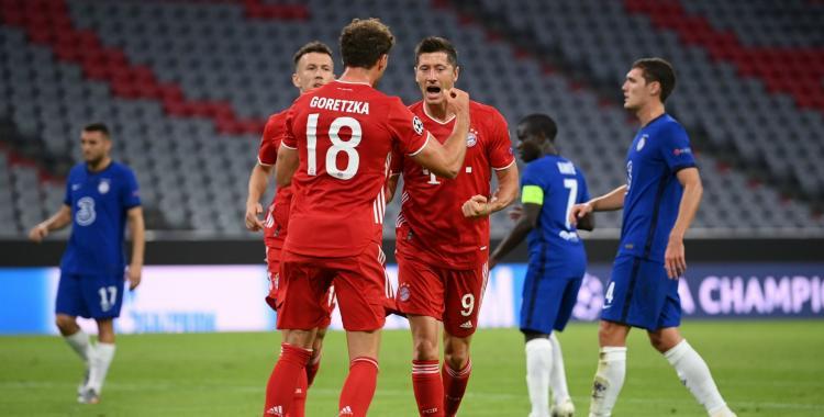 Una máquina: Bayern Munich le ganó al Schalke por 8 a 0 | El Diario 24