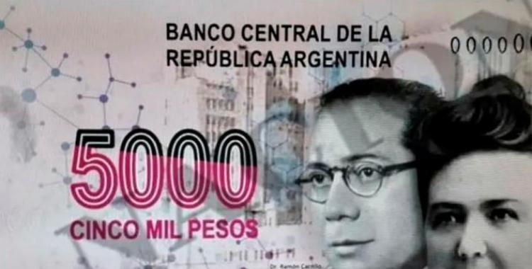 Admiten que el Banco Central y la Casa de la Moneda evalúan imprimir el billete de $5000 | El Diario 24