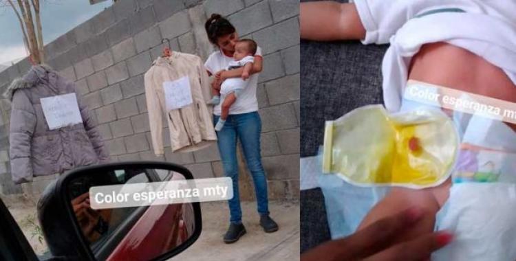 Una joven decidió intercambiar su ropa por comida y pañales para su bebé   El Diario 24