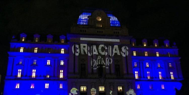 """CCK por CCQ"": Proponen que el Centro Cultural Kirchner lleve el nombre de Quino | El Diario 24"