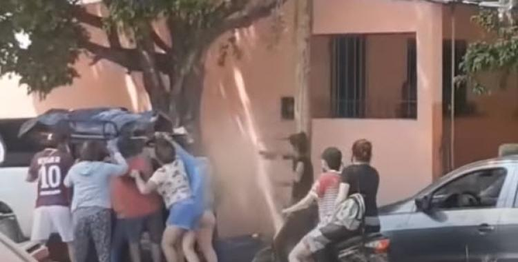 VIDEO Denuncia penal a una familia que se robó el cuerpo de un pariente de la morgue del Hospital de Tartagal | El Diario 24