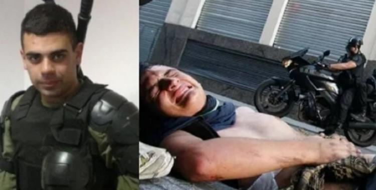 Condenaron al policía que pisó con su moto a cartonero en la protesta contra la reforma previsional | El Diario 24