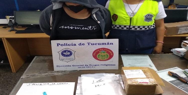 Una tucumana quiso retirar una encomienda proveniente de China con polvo de almendras, pero era cocaína y quedó detenida | El Diario 24