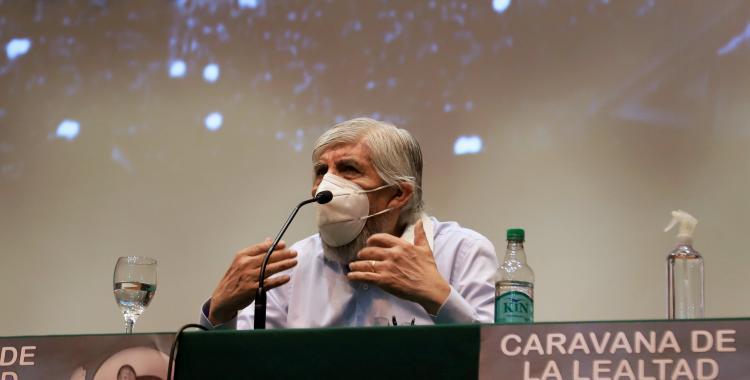 Hugo Moyano rompió el silencio y habló sobre la vacunación vip | El Diario 24