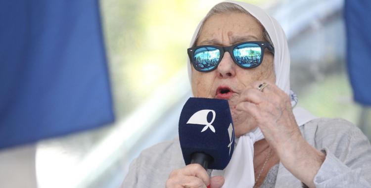 Hebe de Bonafini criticó a Juan Grabois por la toma de campos en Entre Ríos   El Diario 24