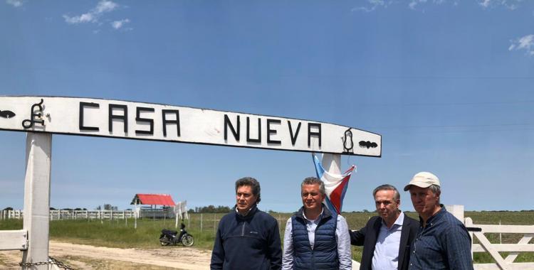 Pichetto llegó al campo de los Etchevehere con un mensaje de Macri y Carrió | El Diario 24