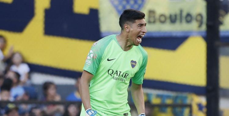 Se lesionó Esteban Andrada y queda descartado para el debut de Boca Juniors en el torneo local | El Diario 24
