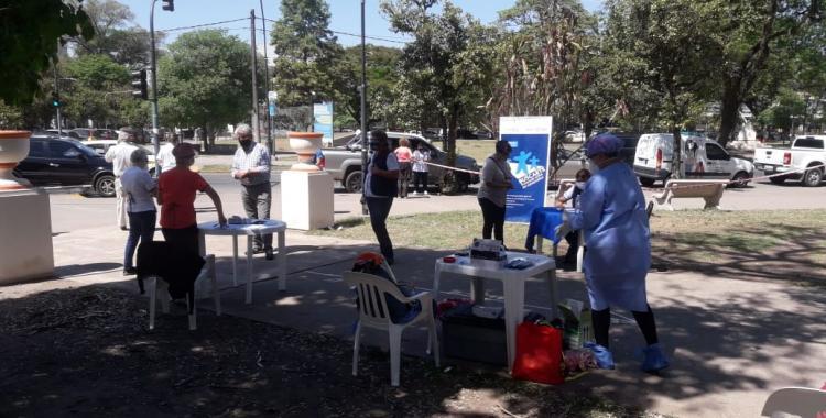 Salud buscó casos de coronavirus en Plaza San Martín   El Diario 24