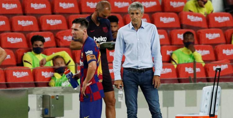 Quique Setién rompió el silencio y cargó contra Messi: Leo es difícil de gestionar | El Diario 24
