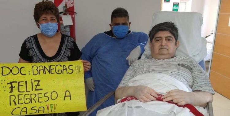 El médico tucumano que peleó durante 55 días contra el Covid, lo venció y quiere volver a cuidar a los pacientes | El Diario 24