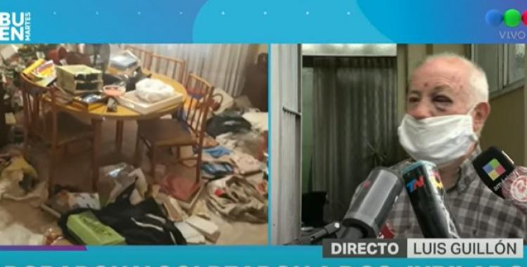 VIDEO Brutal golpiza a un jubilado en un asalto en su casa: los ladrones creían que tenía dólares por ser italiano | El Diario 24