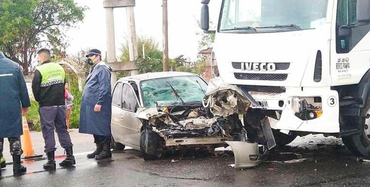 Accidente fatal en la ruta 38 al sur de Juan Bautista Alberdi: un hombre murió tras chocar con un camión | El Diario 24