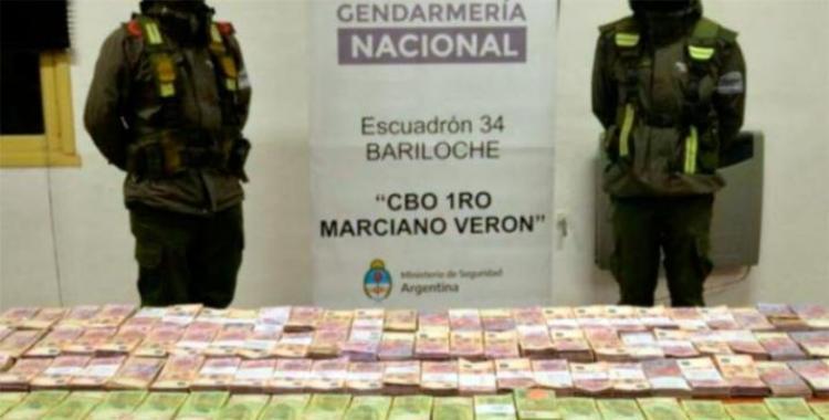 Gendarmería interceptó a una funcionaria que trasladaba $3 millones en una camioneta | El Diario 24