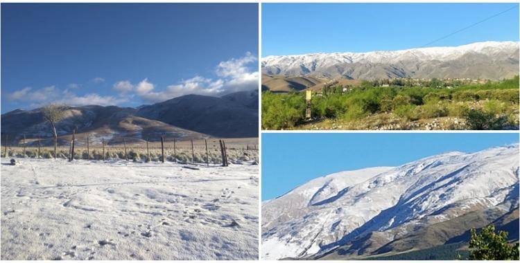 Luego de una noche de intensa tormenta, Tafí del Valle amaneció con un manto blanco | El Diario 24