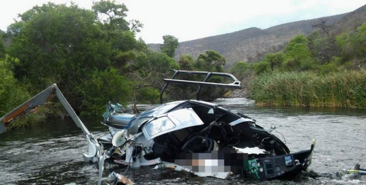 Muerte de Jorge Brito: Un equipo de expertos inicia las pericias sobre los restos del helicóptero | El Diario 24