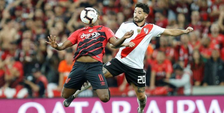 River Plate visitará a un diezmado Athlético Paranaense con seis bajas por haber dado positivo de Covid-19 | El Diario 24