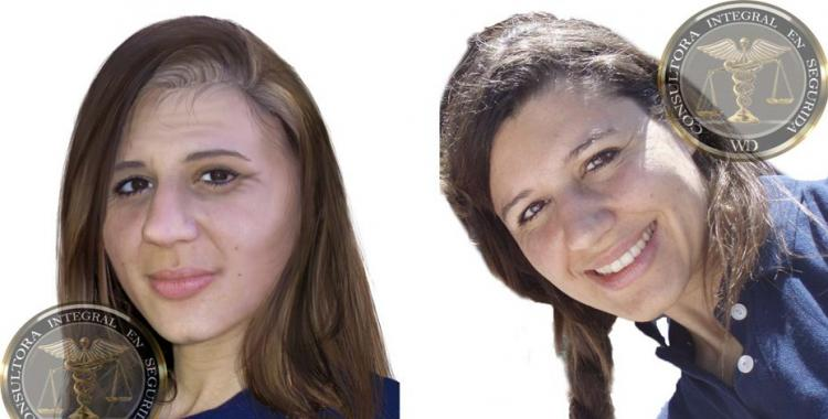 Difundieron un retrato de cómo se vería hoy María Cash con el propósito de reactivar su búsqueda | El Diario 24