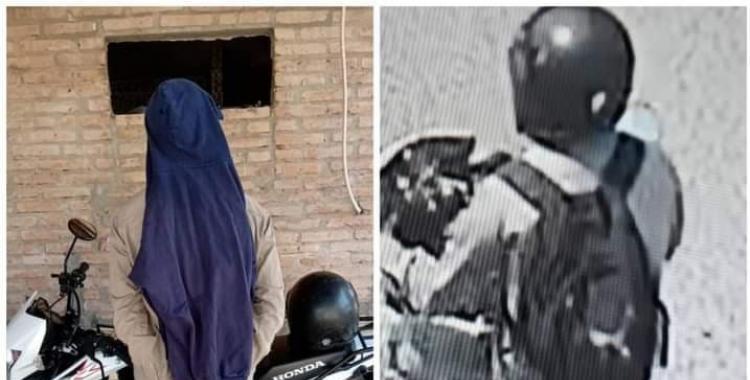 La policía atrapó al sátiro de la moto que manoseaba a ciclistas en plena calle   El Diario 24