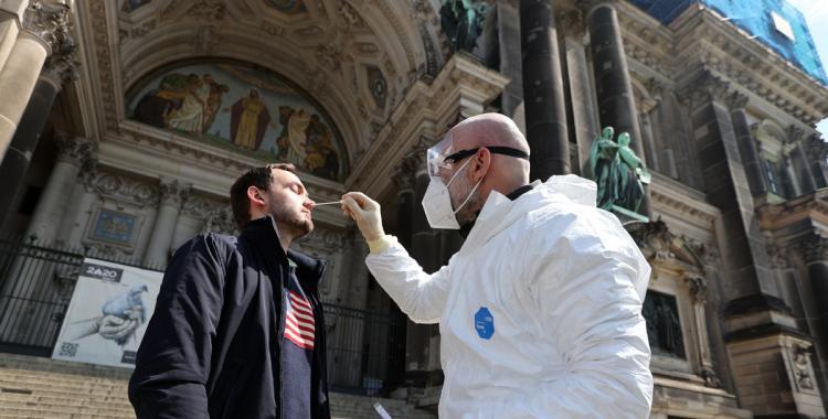 Coronavirus: Alemania superó el millón de contagios desde el inicio de la pandemia | El Diario 24