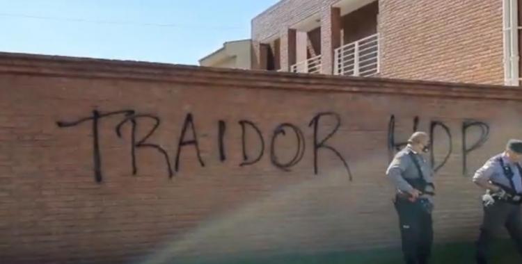 Barras de San Martín atentaron contra la casa de Guillermo Raed y quedaron bajo la lupa de la Justicia   El Diario 24