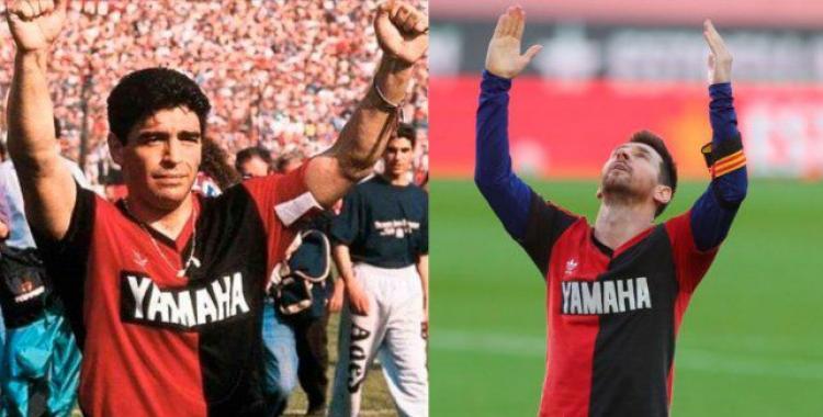 Newell´s puso a la venta una réplica de la camiseta que usó Maradona en 1993 | El Diario 24