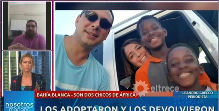 Hermanitos africanos abandonados: la investigación determinó que no se hicieron los trámites de adopción | El Diario 24