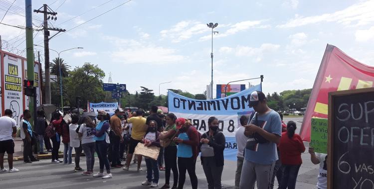 Cortan accesos al Parque 9 de Julio: reclaman asistencia para comedores y merenderos   El Diario 24