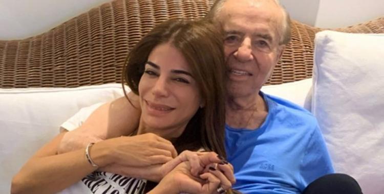 Está enojado, pero está bien, aseguró Zulemita sobre la salud de su padre, Carlos Menem   El Diario 24
